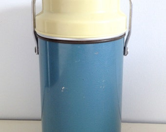 Original Thermos Registered Trade Mark, Thermos Flask, Made in England, Picnic, Camping, Food Flask, 1950s