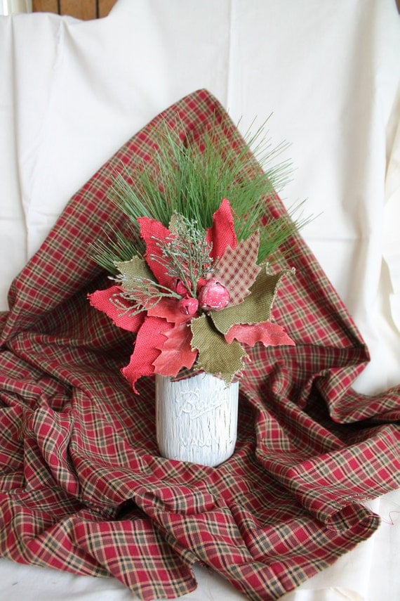 Items Similar To Primitive Christmas Decor Country Prim