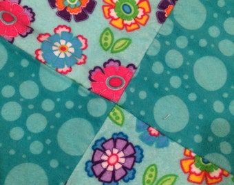 Colorful Flannel Rag Quilt