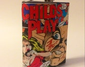 Child's Play Comic Book Flask