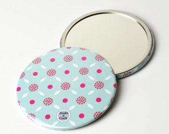 Pocket mirror 3 Inches - Hortensia - DC