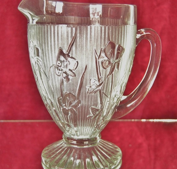 Antique Glass Pitcher Identification