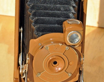 Vintage No. 1 Pocket Kodak Junior brown (1926-1932)