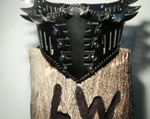 Dragon Claw Black Leather Underbust