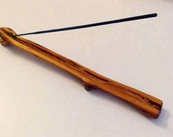 Handmade Osage Orange incense burner, wood incense burner