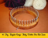 Baby / Toddler  Size Hat Knitting Loom  - Your choice of Gauge -  Cottage Looms -  board