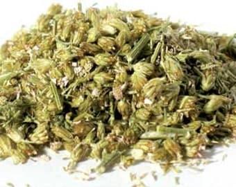 Yarrow Flowers Cut 16 Oz  (1 Pound) For Crafting or Medicinal
