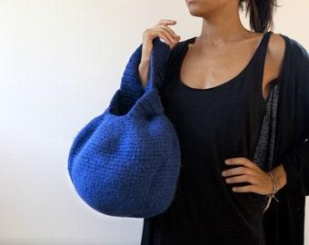 Le Big Knot Bag. Sac laine feutrée, design japonais, classe et original