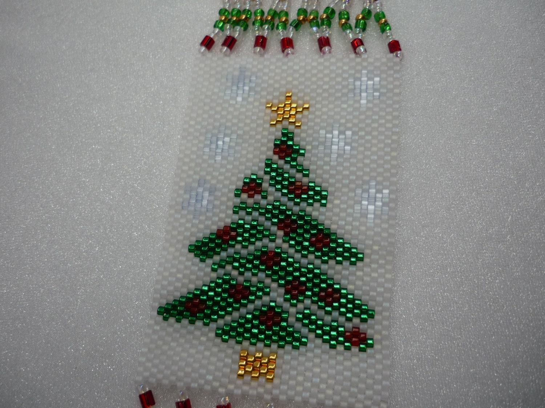Peyote Pattern O Christmas Tree