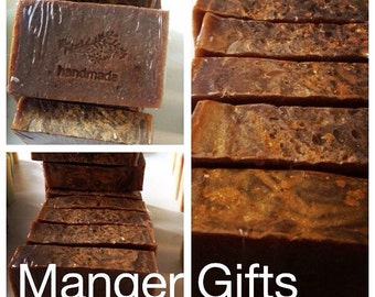 Manger Gifts soap,frankincense, gold and myrrh soap,vegan soap,cold process soap, plant oils, moisturizing ,Shea butter soap.