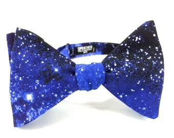 Universal Space Galaxy Bow Tie - bowties, bowties, bow ties, universe, carl sagan, bill nye, explore, astronaut, fun, cool, geek, geeky chic