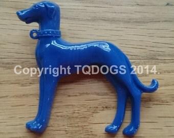 Art Deco Style Greyhound Brooch