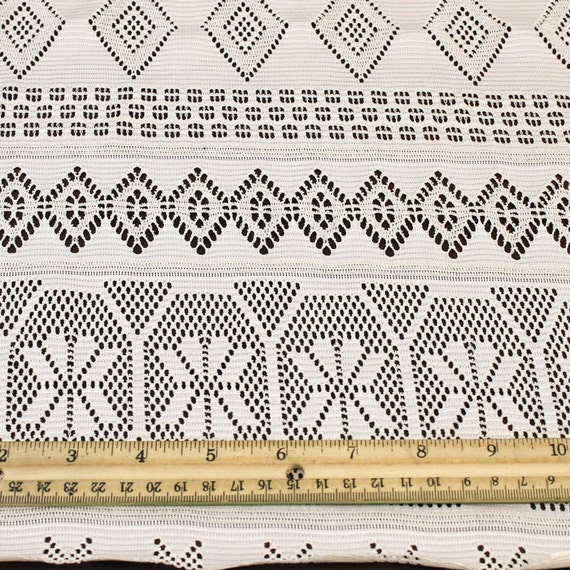 Natural lace fabric by the yard or wholesale mika pattern for Cheap fabric by the yard