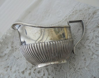 Sterling silver jug Antique english silver