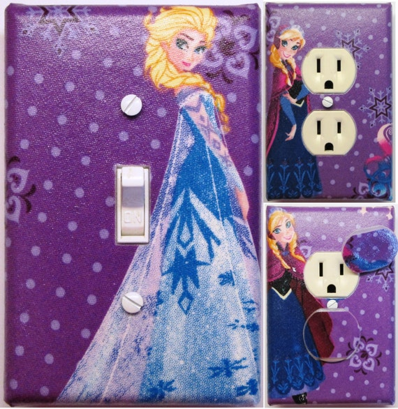 frozen light switch and outlet covers