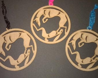 UniQ glad Podenco hound & Haas ornamenten