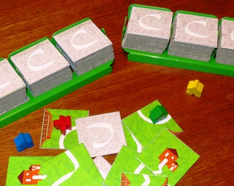 Meeple Tile Tray Set (Compatible with  Carcassonne)