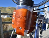 Personalized Bicycle Cup Holder, Bike Cup Holder, Handlebar Cup Holder, beach cruiser cup holder accessory