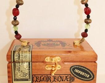Cigar Box Purse | Handbag | Wood Box
