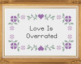 PDF Pattern - Love Is Overrated