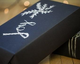 Chalkboard Paper Roll 5 ft | Chalkboard Gift Wrap | Black Kraft Paper | Chalkboard Placemat | Christmas Gift Wrap | Christmas Wrapping Paper