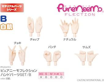 AZONE Pure Neemo Hand Set B, White