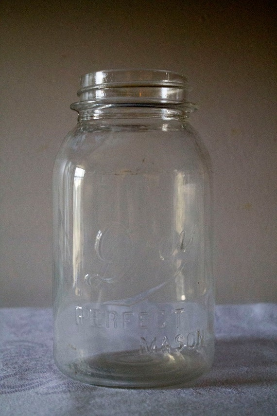 Vintage Drey Canning Fruit Jar Glass By Simplifymyworld On Etsy
