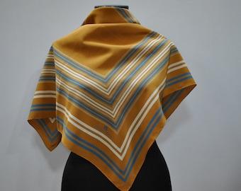 Vintage ETIENE AIGNER silk scarf ...(702)