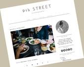 Responsive Premade Blogger Templates - Responsive blogger template - 9th Street