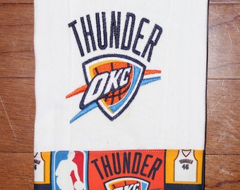 OKC Thunder Burp Cloth