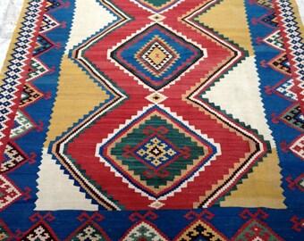 Sunshine Kilim - qashqai ghileem - Fars - South west Persia - 20Cty - 231x160cm - 100% fine wool