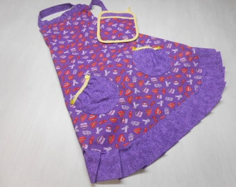 Adult Apron and Pot Holder