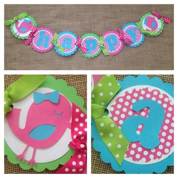 Little Bird Party - Birthday Party Ideas & Themes |Little Bird Party Supplies