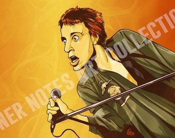 Johnny Rotten 11 x 17 Print