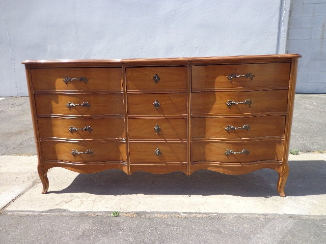 French provincial dresser chest of drawers changing table for French provincial bedroom furniture