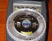 Rare Gossen Lunasix 3 Vintage Light Meter