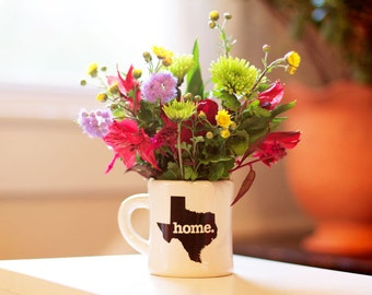 Texas Ceramic Home Coffee Mug