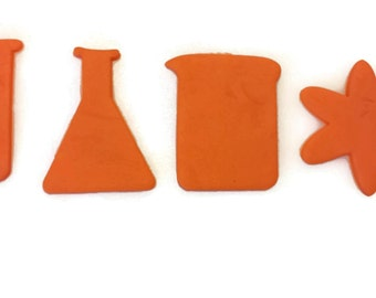 3D Printed Chemestry Set Cookie Cutter Set
