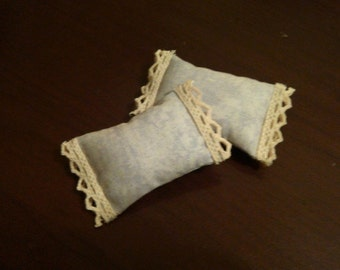 Dollhouse Miniature 1:12 Scale Pillows