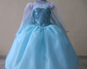 Elsa Inspired costume high quality
