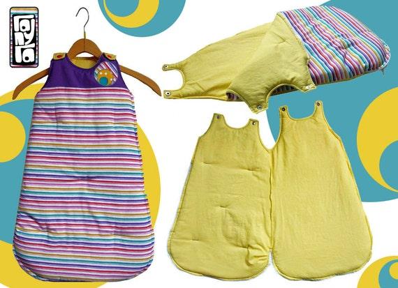 items similar to sleeping bag suit on etsy. Black Bedroom Furniture Sets. Home Design Ideas