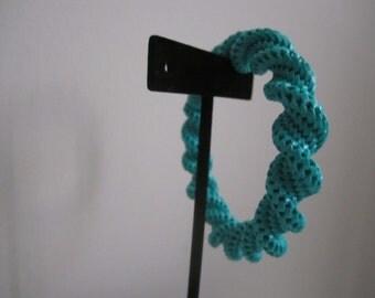 Sea Green Chunky Large Bangle Bracelet
