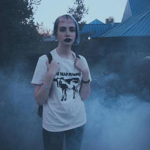 NEW Sandy Dead Milkmen T-Shirt 90s PUNK