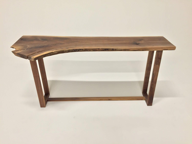 Live Edge Console Table Ls1707 Sofa