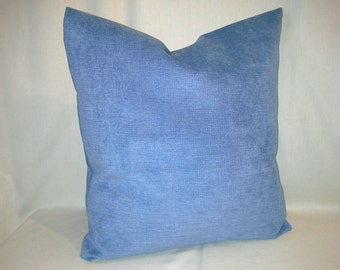 Winter Blue Pillow Cover 18 x 18in