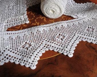Handmade Crochet Lace Trim Giada