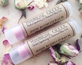 SHEER BLUSH Tinted Lip Balm • Passionfruit + Rose • Earth Wise Shimmer & Shine