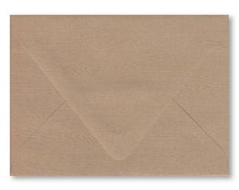 A7 Envelope Australia Wood Grain With Real Wood Grain Texture 5.25x7.25 Inch Suitable For 5x7 Inch Invitation Pack of 10 Rustic