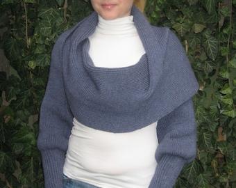 Sciarpone. Scarf. Sweater. Long scarf. Bolero.