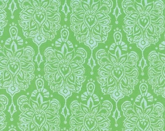 """17"""" REMNANT Horizon - Earth in Green - Cotton Quilt Fabric - designed by Kate Spain for Moda Fabrics - 27191-11 (W2297)"""
